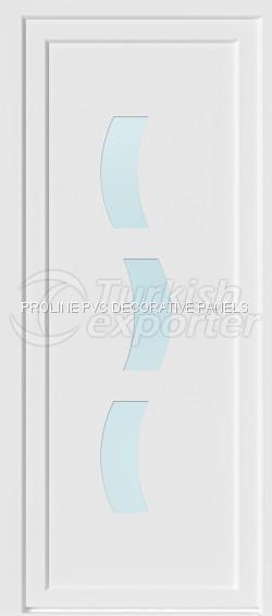 Flat PVC Door Panels 10008