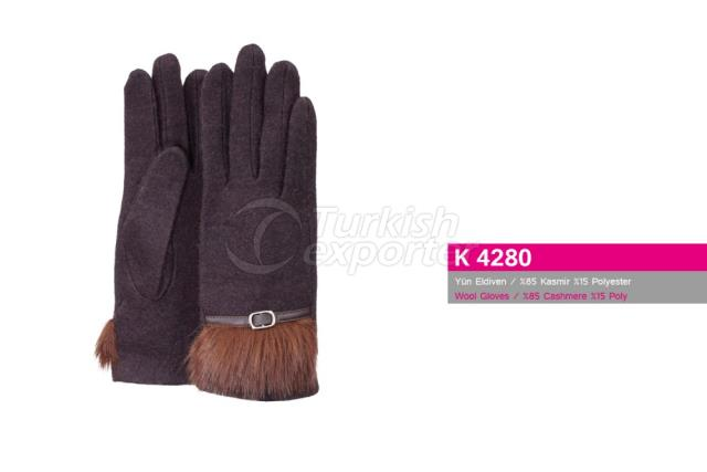 Wool Gloves K4280