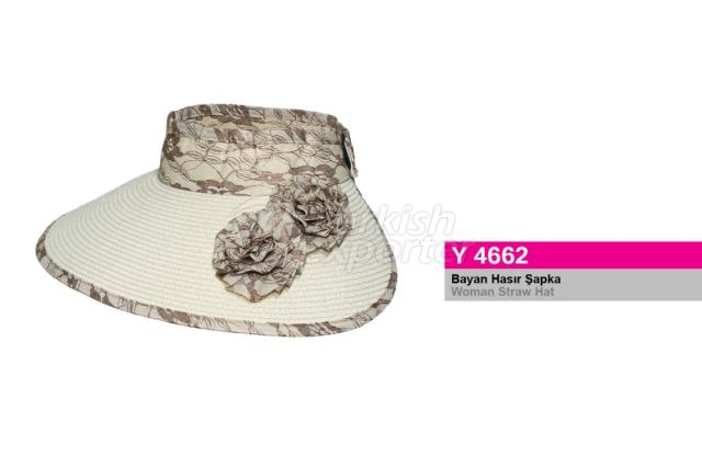 Woman Straw Hat Y4662