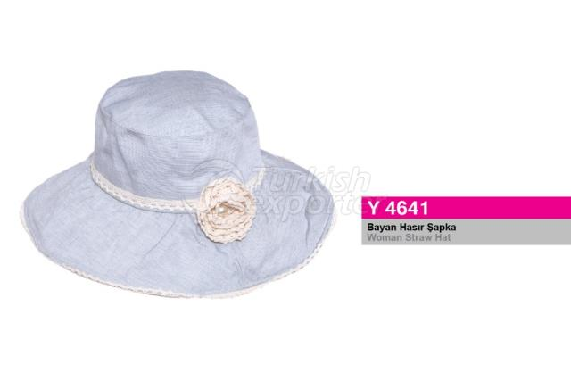 Woman Straw Hat Y4641