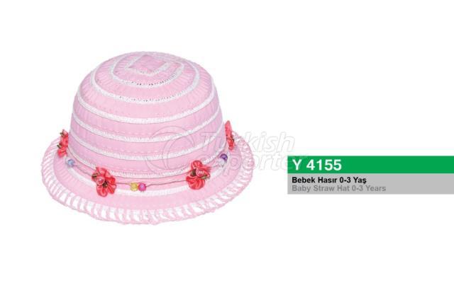 Baby Straw Hat Y4155