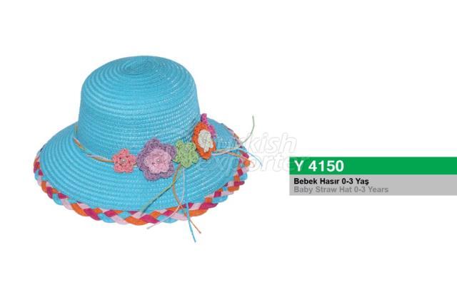 Baby Straw Hat Y4150