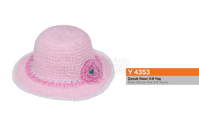Kids Straw Hat Y4353