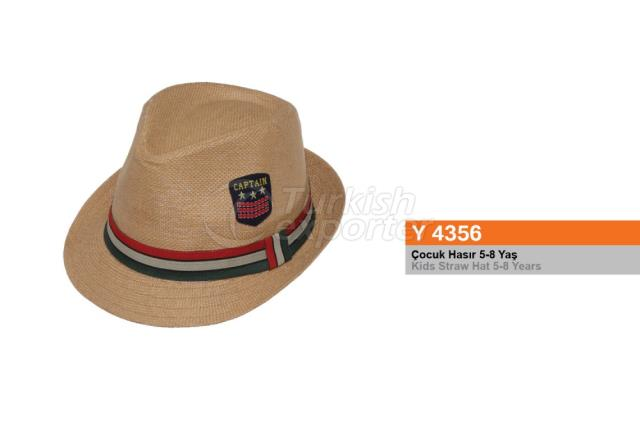 Kids Straw Hat Y4356