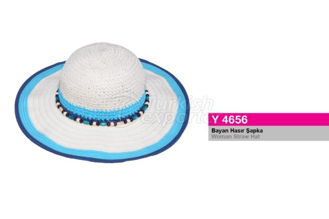 Woman Straw Hat Y4656