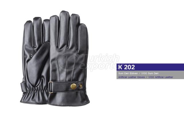 Artificial Leather Gloves K202