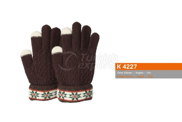 Knitted Gloves K4227