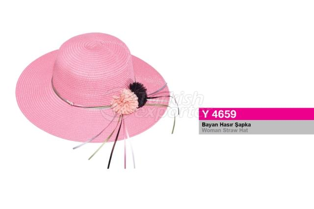 Woman Straw Hat Y4659
