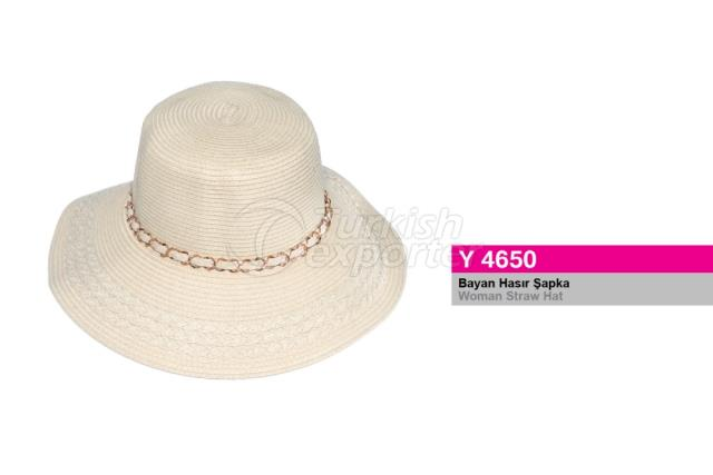 Woman Straw Hat Y4650