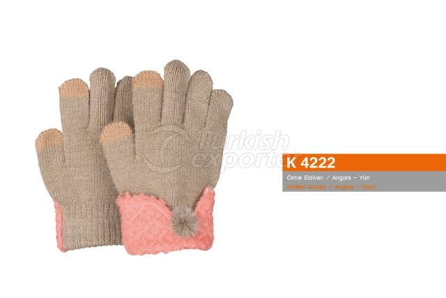 Knitted Gloves K4222