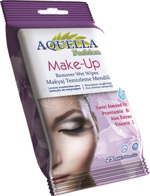 Make-Up Remover Wet Wipe Aquella