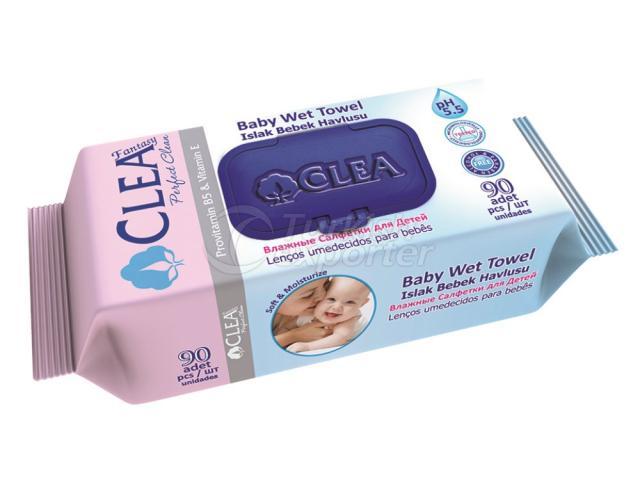 Baby Wet Towel Clea