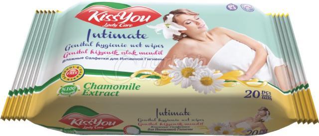 Genital Hygienic Wet Wipe Kiss You