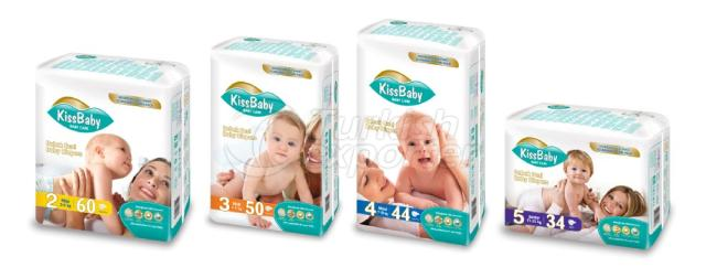 Baby Diaper Kiss You
