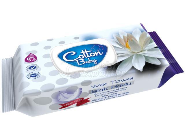 Baby Wet Towel Cotton Baby