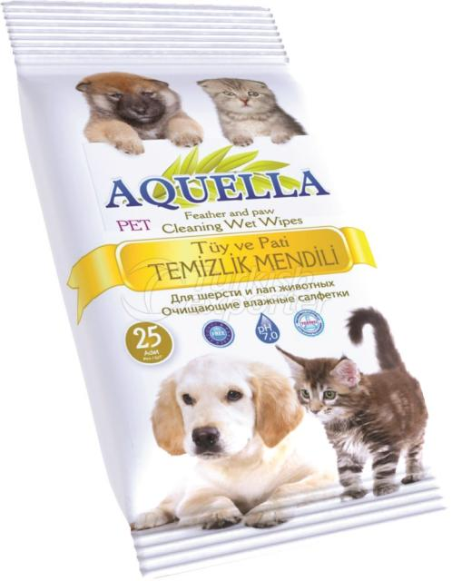 Feather-Paw Cleaning Wet Wipe