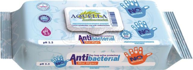 Antibacterial Wipe Aquella