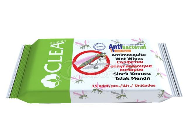 Antimosquito Wet Wipe Clea