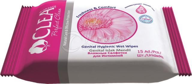 Genital Hygienic Wet Wipe Clea