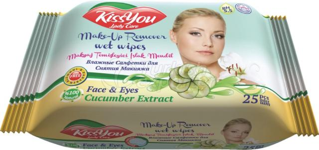 Make-Up Cleaning Wet Wipe Kiss You