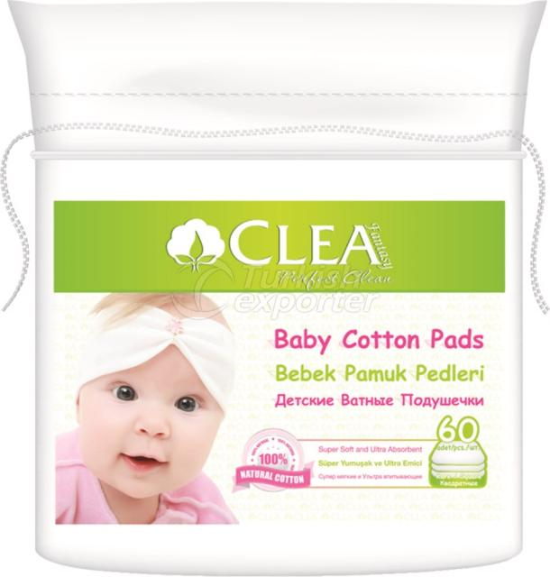 Baby Cotton Pads Clea