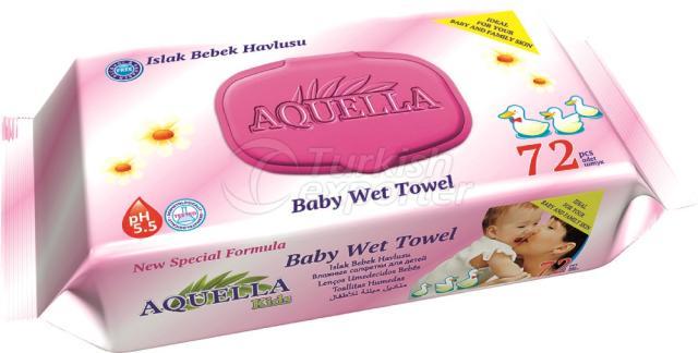 Baby Wet Towel Aquella