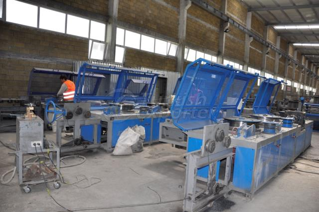 Wire Drawing Ribbing Winding Machine