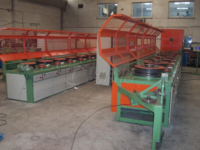 9 Coiled Wire Drawing Machine Outlet Diameter