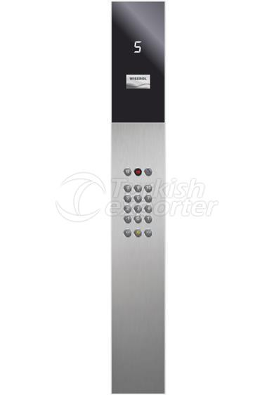 Glass Car Operational Panels SGN2000