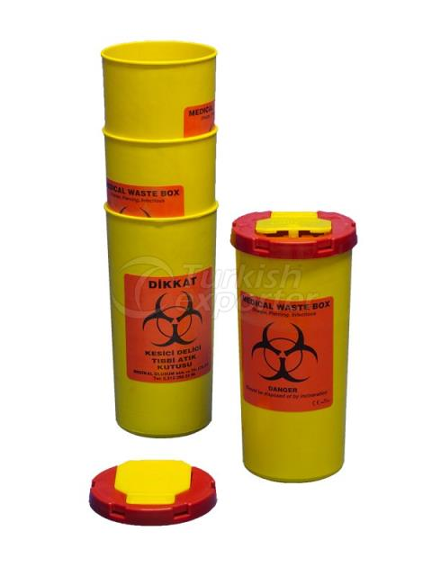0.5 lt Biohazard Waste Container