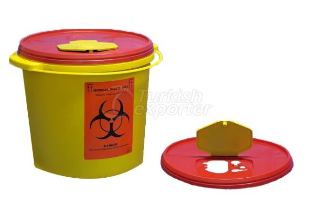 5 lt Biohazard Waste Container