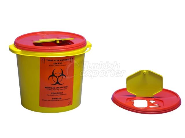 10 lt Biohazard Waste Container