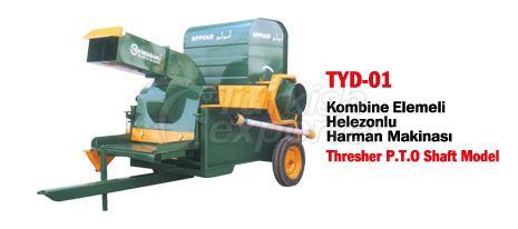 TYD-01 Thresher with Spiral