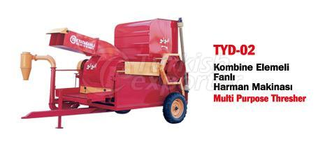 TYD-02 Thresher with Blower