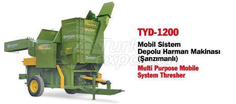 TYD-02 Multi Purpose System Thresher