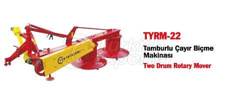 TYRM-22 Two Drums Rotary Mower