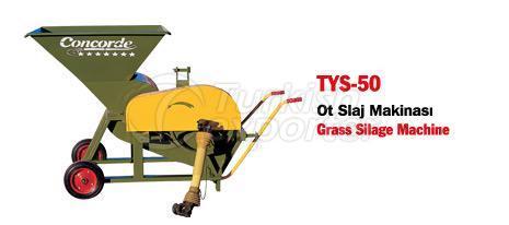 TYS-50 Grass Silage Machine