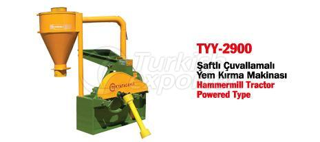 TYY-2900 Hammermill Powered by Tractor