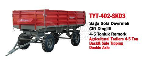 TYT-402 SKD3 Trailer Back&Side Tipping