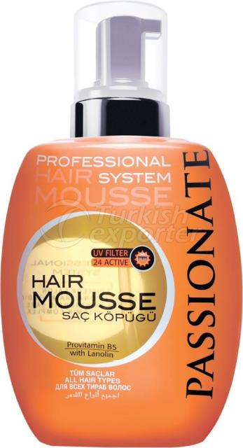 Hair Mousse All Hair Types