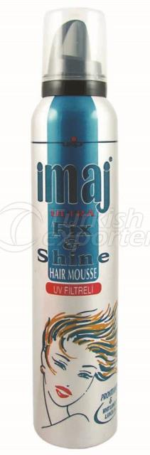 Hair Mousse Fix And Shine