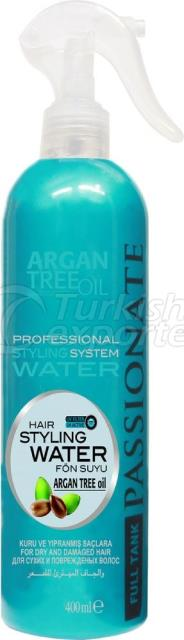 Hair Styling Water Blue