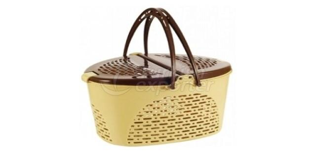 Oval Hamper