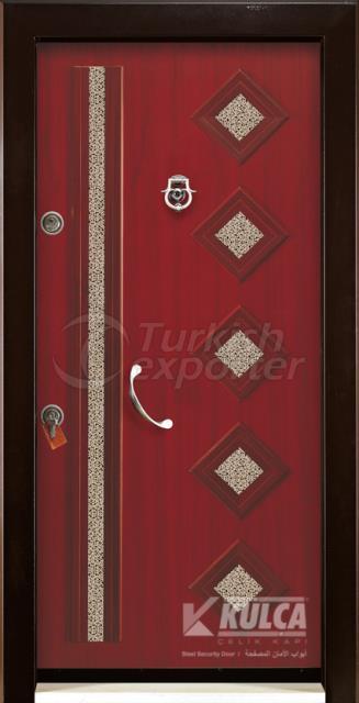 E-8002 ( Panel Steel Door )