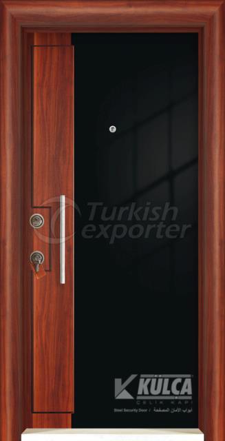 D-2000 ( PVC STEEL DOOR )