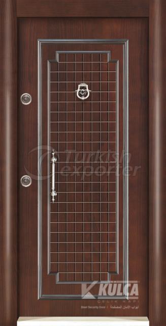 Z-9051 Exclusive Steel Door