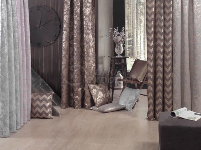 Brown Jacquard Concept Pillowcase