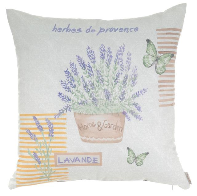 Lavander plant pillowcase