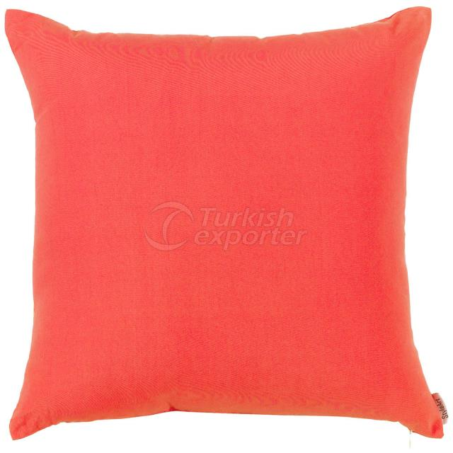 Plane red-pink pillowcase