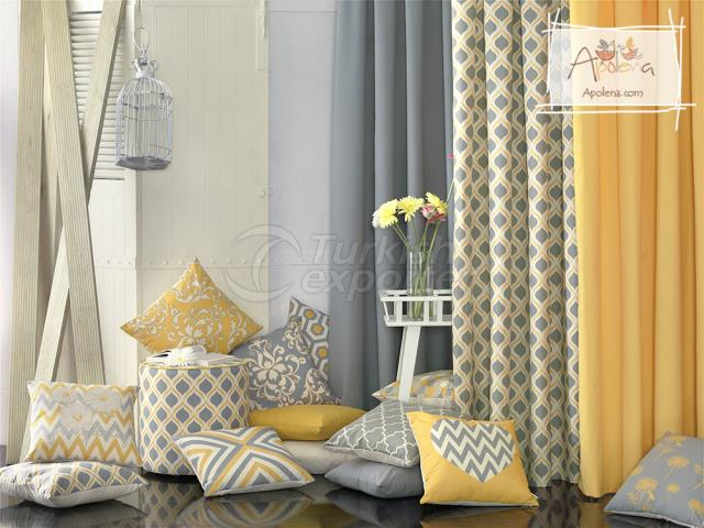 Yellow and Grey Baroque Concept